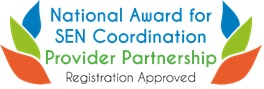 National Award for SEN Coordination Logo,