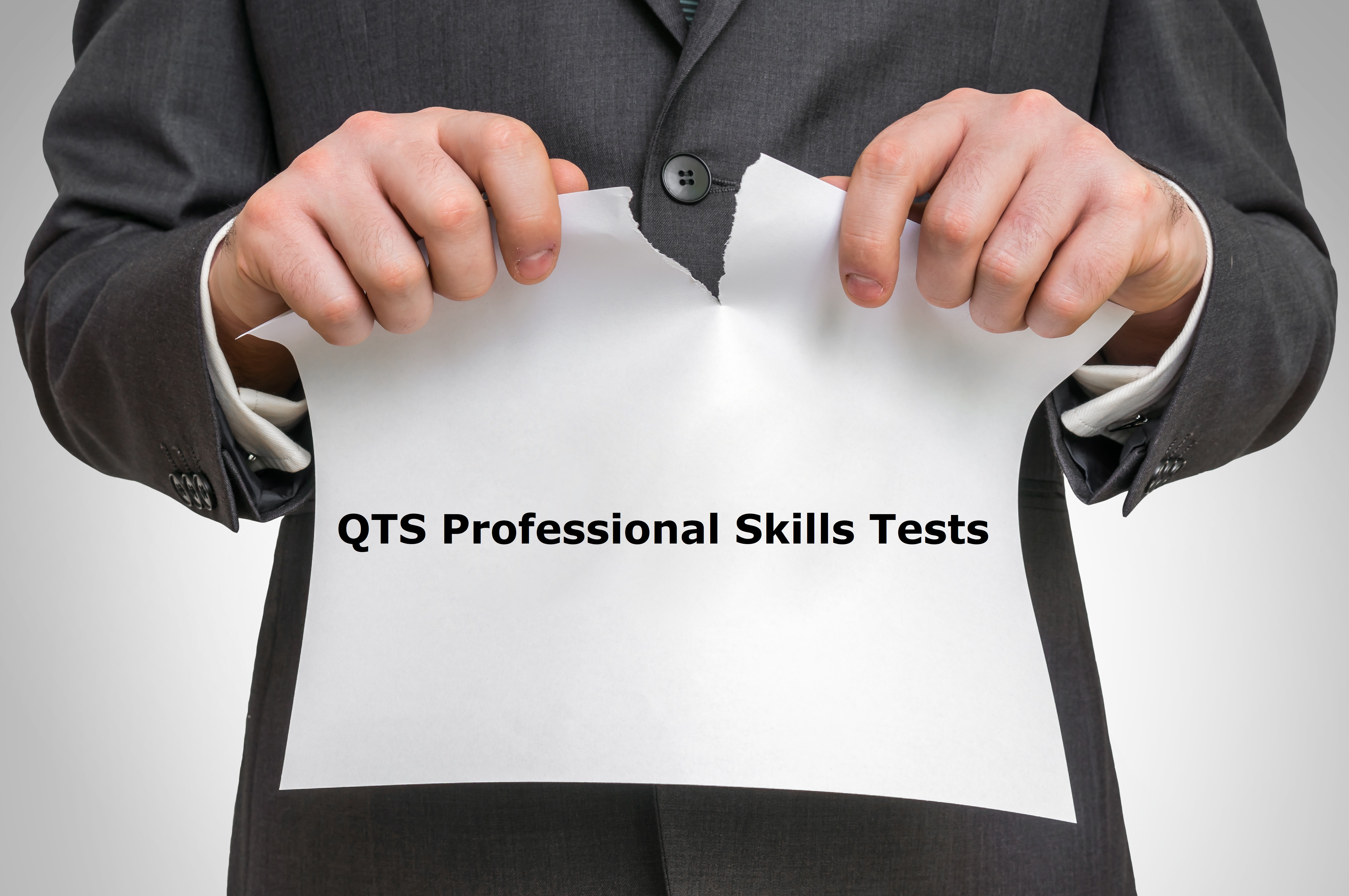 Professional Skills Tests Scrapped