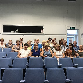 1989 Reunion Sat in the lecture theatre