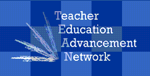 Teacher, Education, Advancement, Network Logo