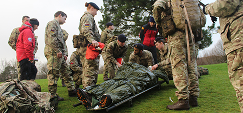 Ambleside exercise brings specialist army regiment, mountain rescue and paramedics together