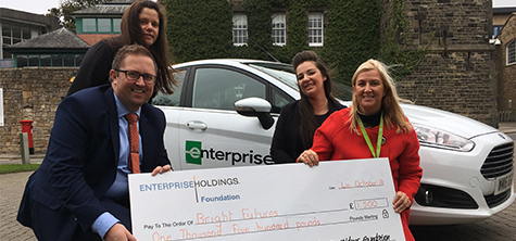 Student fund benefits from Enterprise support