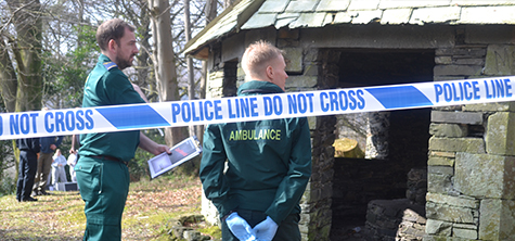 University's authentic crime scene exercise shortlisted for excellence award