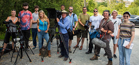 Students are in focus as special edition of BBC Countryfile comes to Cumbria