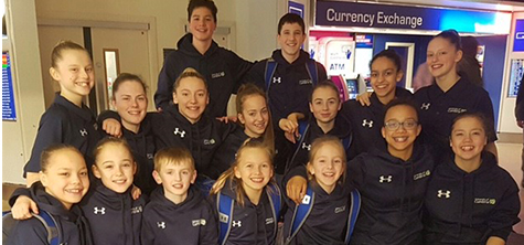 University supports successful Lancaster gymnasts