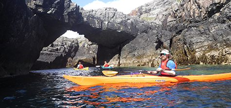 Inspiring Outer Hebrides sea kayak expedition