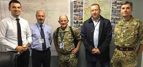 Paramedic lecturer leads team on NATO Exercise