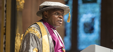Archbishop Sentamu's tour of Cumbria
