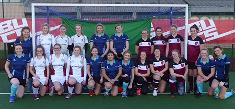 Cumbria, Leeds and Sheffield women's hockey teams