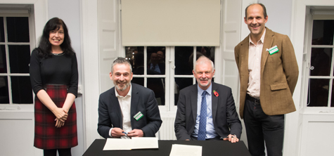 University of Cumbria and National Trust sign ground-breaking agreement
