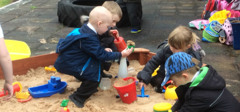 Mud pies anyone? University of Cumbria's outdoor classroom helps children to enjoy playing and learning in a natural setting