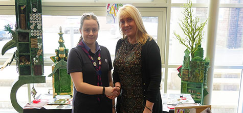 Prestigious Guiding award earns congratulations for Chloe
