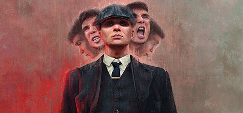 2018 Illustration graduate Harry G Ward's winning piece, one of 16 winners to be chosen in the summer 2019 BBC Peaky Blinders FanArt competition run by BBC Creative