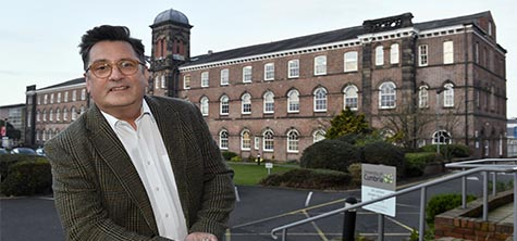 Brian Webster-Henderson Institute of Health (picture credit: Newsquest Cumbria)