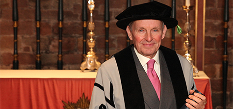 Distinguished farmer and landowner becomes university honorary fellow