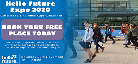 Virtual education fair showcases future options available for Cumbrian students