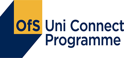 Uni Connect programme logo, as Hello Future moves to digital resources during Covid-19 coronavirus pandemic, May 2020