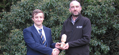 Cumbria University student wins Tilhill Forestry award