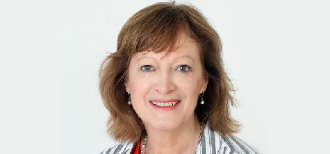 Sharon Shoesmith attending university social work research conference