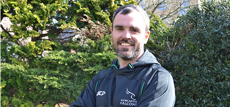 Lecturer scores with lead physio role for England Students' Rugby team