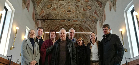 Social work leaders visit Milan for European research project