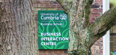 Business Interaction Centre sign