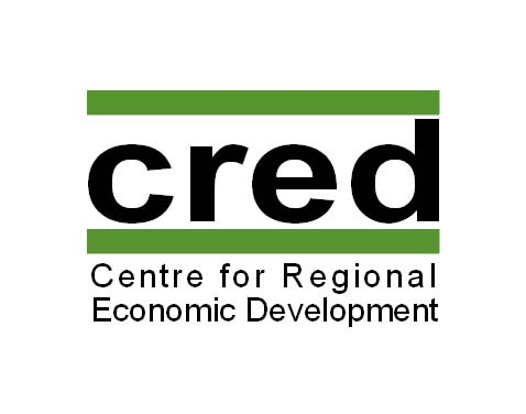 CRED Centre for regional Economic Development Logo