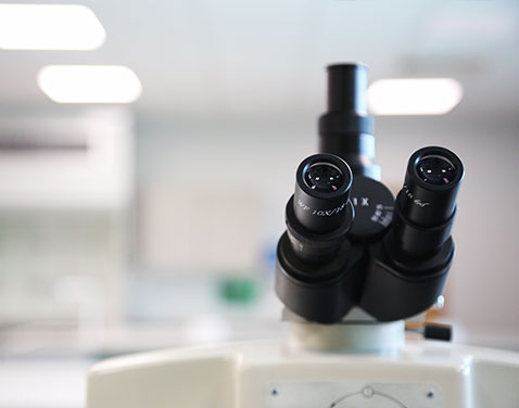 microscope in lab. original file name: Research.jpg