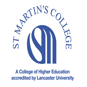 St Martins College logo