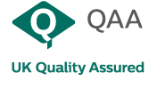 QAA Quality kitemark, QAA UK Quality Assured logo