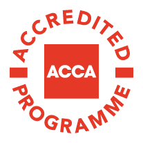 ACCA accreditation logo, ACCA: Accreditation Program Logo